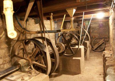 Transmission im Keller